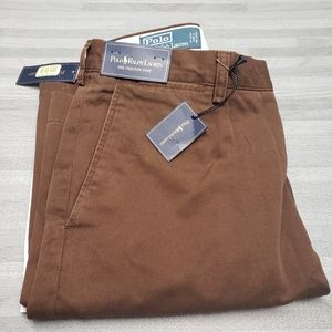 Polo ralph lauren brown chino pant